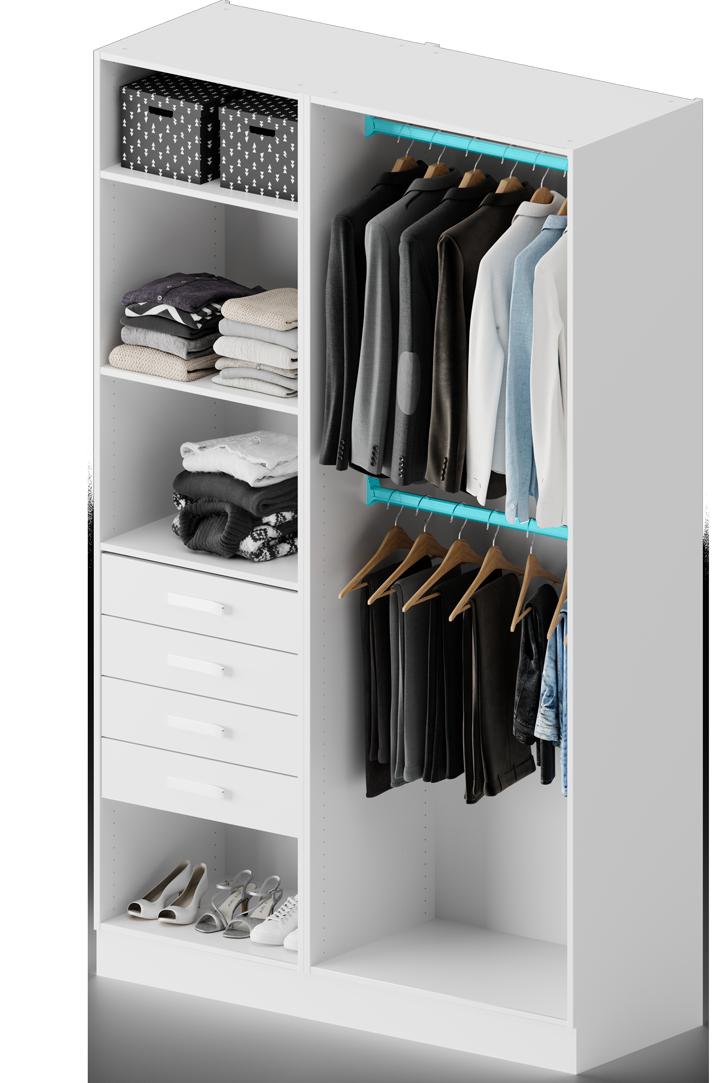 Placard Dressing Le Rangement Design Personnalise Centimetre Com