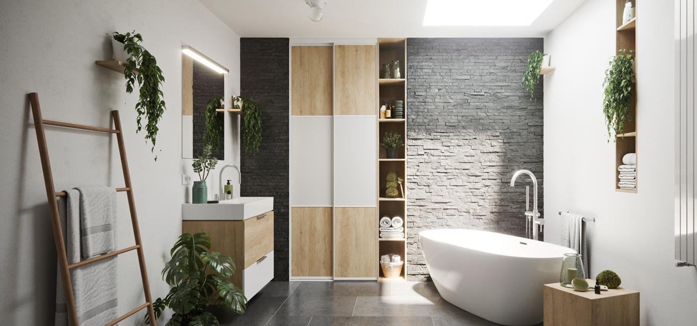 porte de placard salle de bain creez