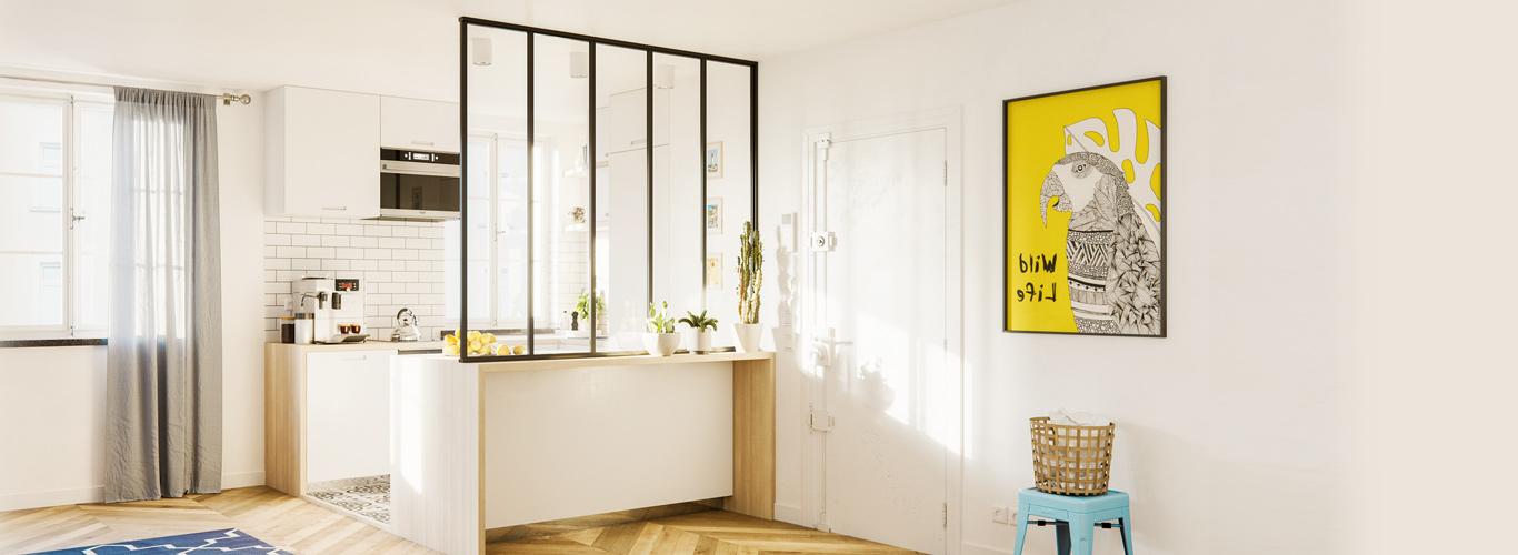 Verrière Intérieur : Votre Verrière Atelier en Ligne | Centimetre.com