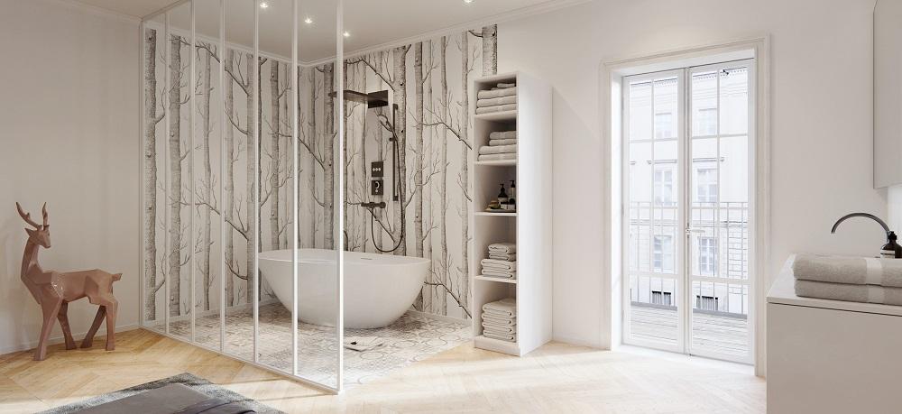 Verrière Salle de bain : Créez votre Verrière Atelier pour la Salle ...
