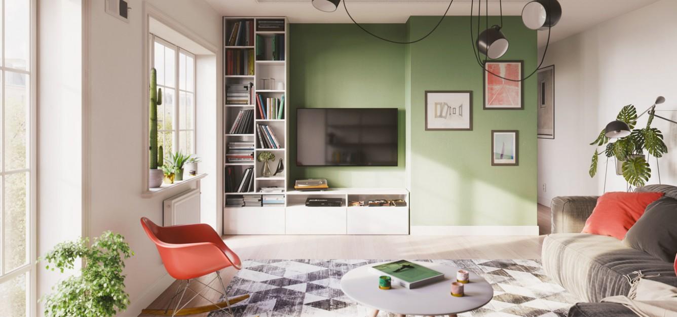 Meuble Tv Angle Bas meuble tv sur-mesure : le rangement pratique | centimetre