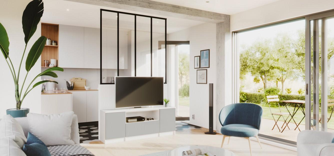 Meuble Tv Bibliothèque Blanc meuble tv sur-mesure : le rangement pratique | centimetre