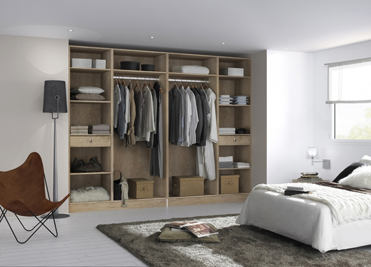 dressing chambre adulte maison design. Black Bedroom Furniture Sets. Home Design Ideas