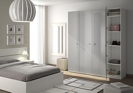 Armoire dressing sur mesure - Dressing avec portes ...