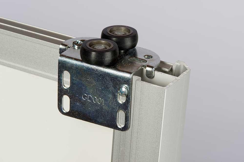 Kit porte de placard coulissante tout inclus for Glissiere porte coulissante meuble