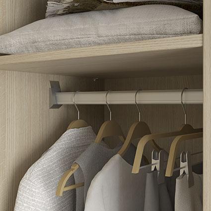 affordable naissance barre penderie haute rsistance penderie haute u tagres surmesure with. Black Bedroom Furniture Sets. Home Design Ideas