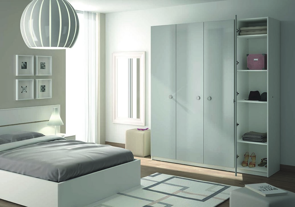 armoire de chambre sur mesure un rangement harmonieux. Black Bedroom Furniture Sets. Home Design Ideas