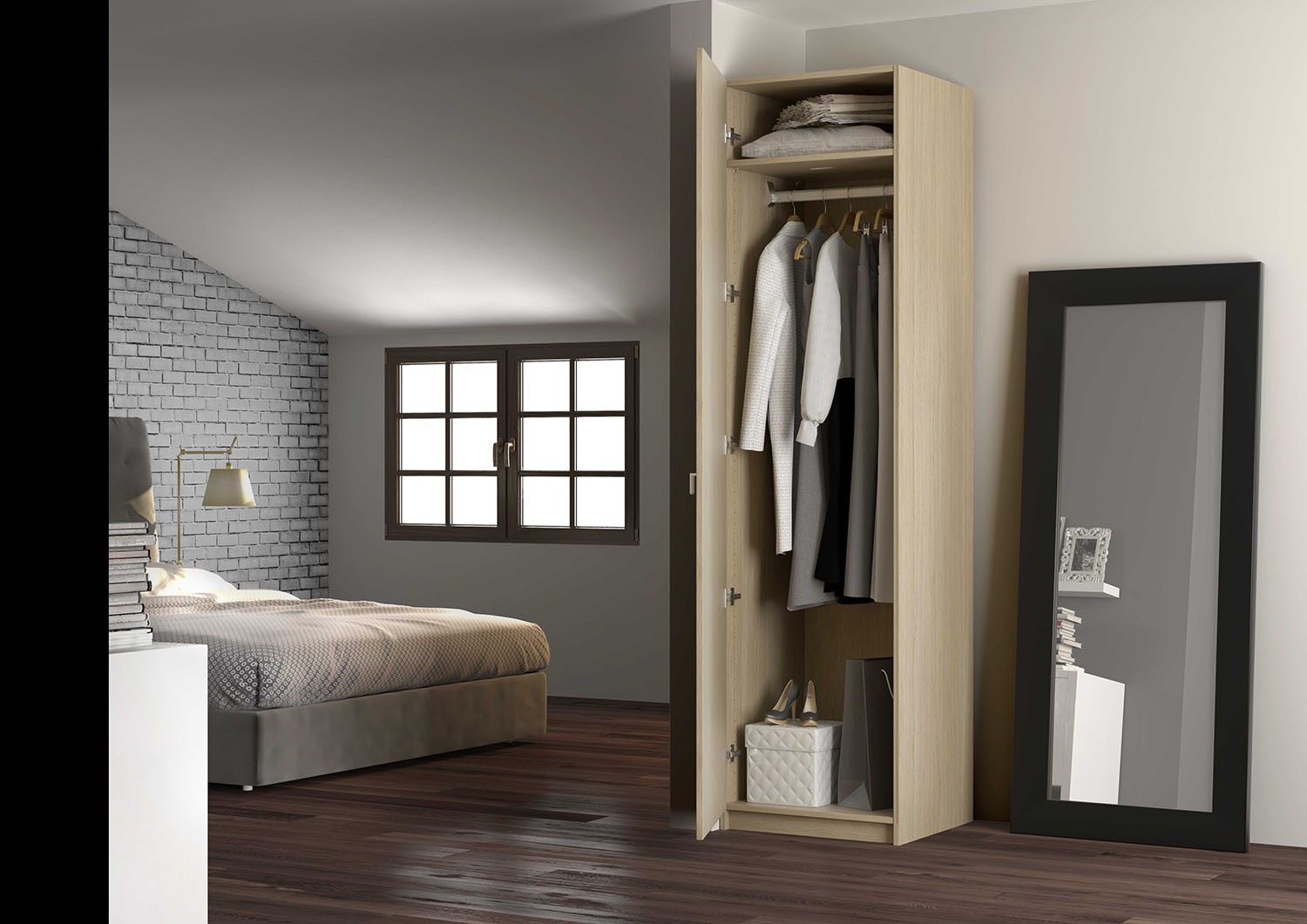 Emejing armoire chambre adulte pictures design trends for Armoires chambre