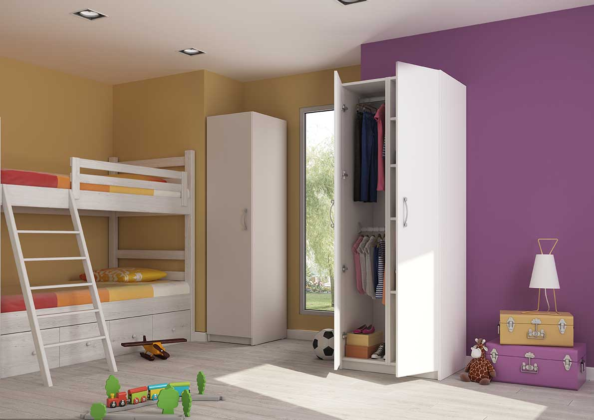 armoire enfant sur mesure enfin une chambre bien rang e. Black Bedroom Furniture Sets. Home Design Ideas