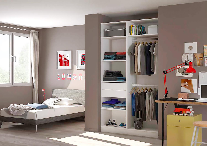 Placard dressing le rangement design personnalis - Comment amenager un placard de chambre ...