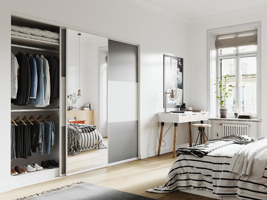 Placard dressing le rangement design personnalis for Separateur de chambre
