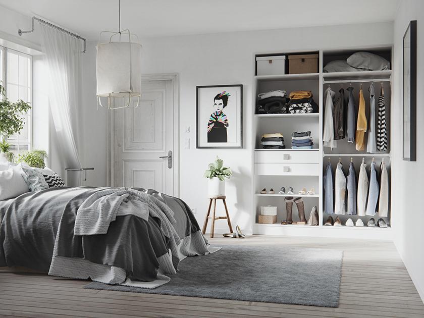 placard dressing le rangement design personnalis. Black Bedroom Furniture Sets. Home Design Ideas