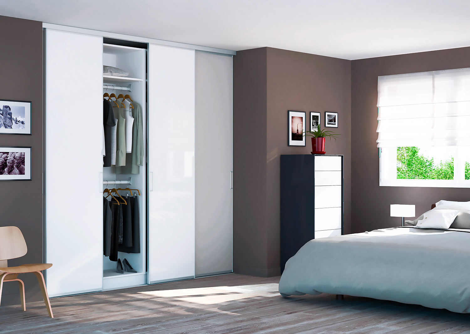 placard am nagement personnalis en ligne made in france prix usine. Black Bedroom Furniture Sets. Home Design Ideas