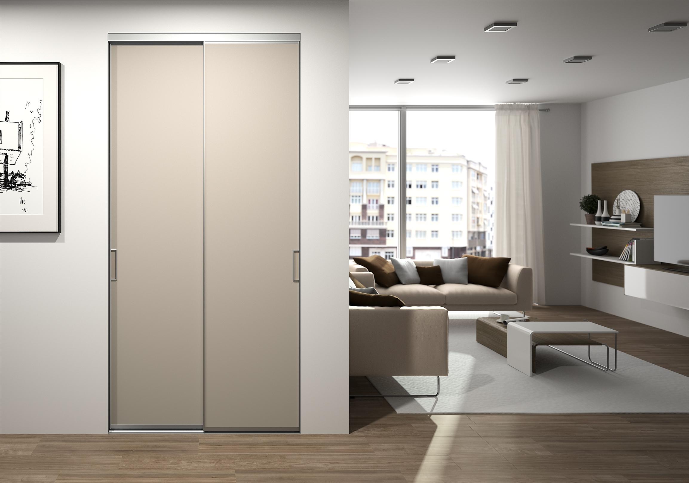 Portes de placard coulissantes pour l 39 entr e - Regler une porte de placard ...