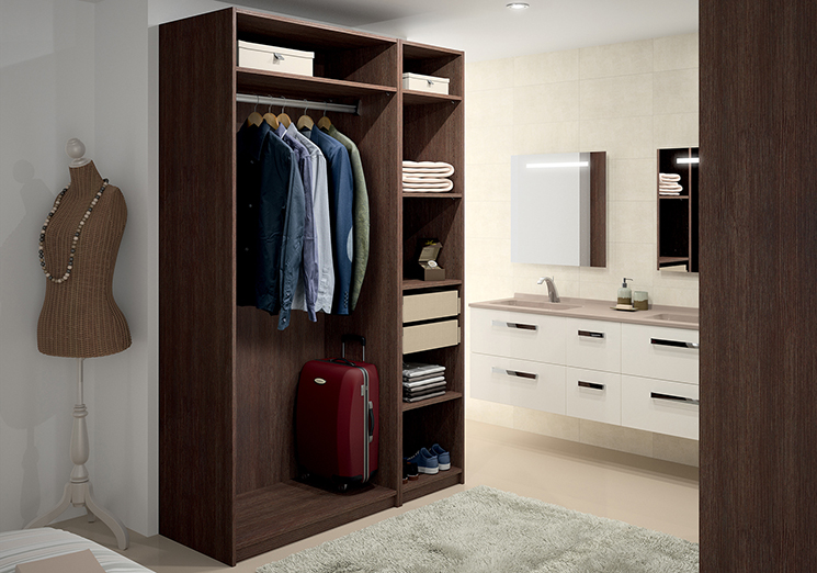 Armoire dressing sur mesure for Configurer une salle de bain